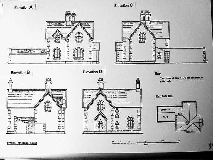236570: Settle - Station Master's House (detached): Elevation view from the West