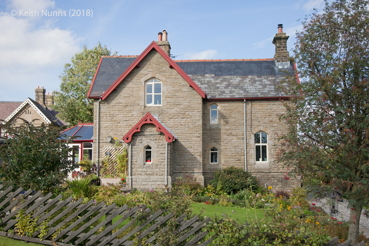 242540: Horton-in-Ribblesdale - Station Master's House (detached): Elevation view from the South