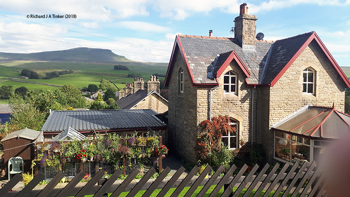 242540: Horton-in-Ribblesdale - Station Master's House (detached): Elevation view from the West