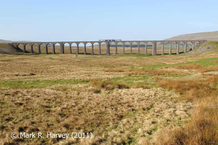Ribblehead Viaduct: Context view from the northeast
