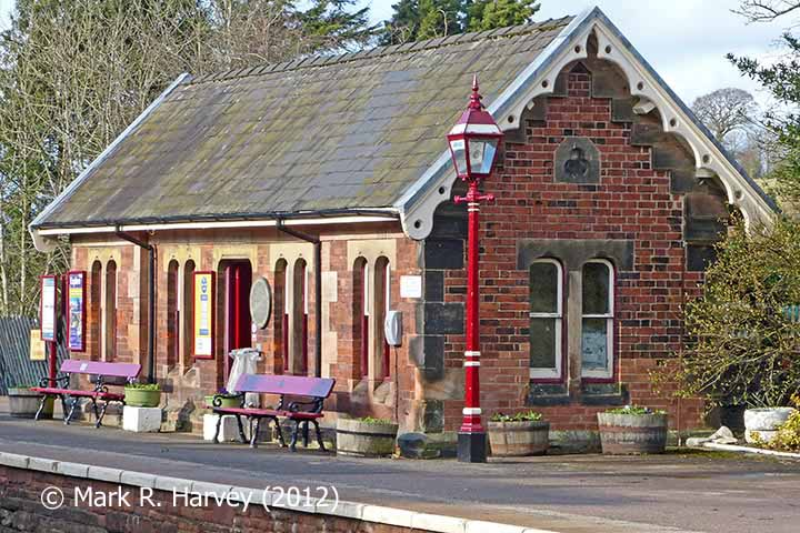 Appleby Station Waiting Room (Up), elevation view from the south-southwest.