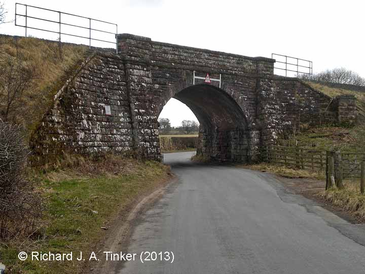 Bridge SAC/249 (Croft Ends Road): North elevation view