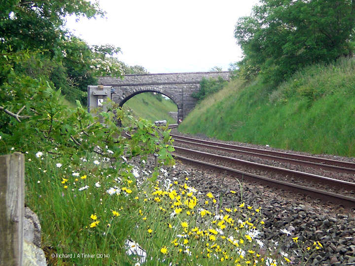 267710: Bridge SAC/188 Waitby School Road: Context view from the west