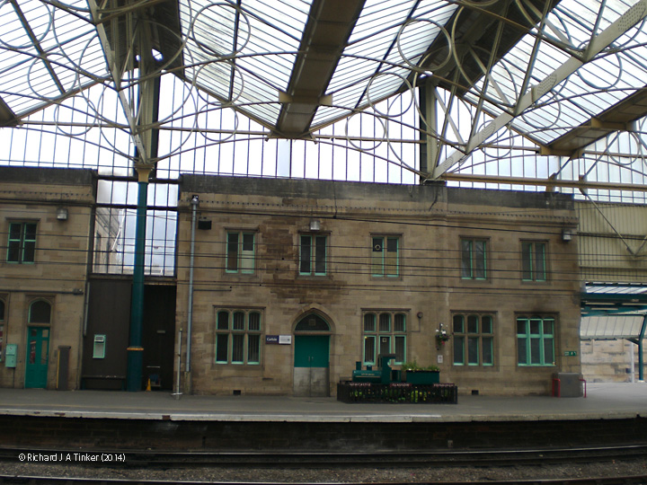 308100: Carlisle Citadel Station: Elevation view from the east