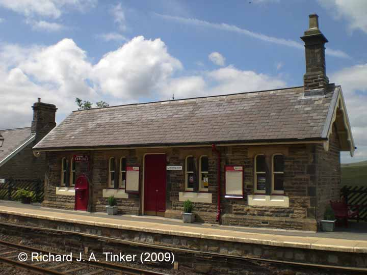 Garsdale Station Down Waiting Room: South-east elevation