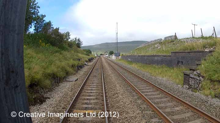 Retaining Wall for Ribblehead Up Sidings