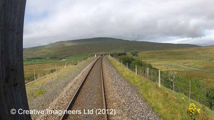 Ribblehead railway construction camp & prehistoric field system