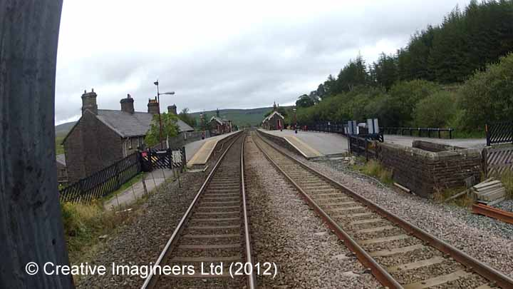 Garsdale Station - Coal Bunker