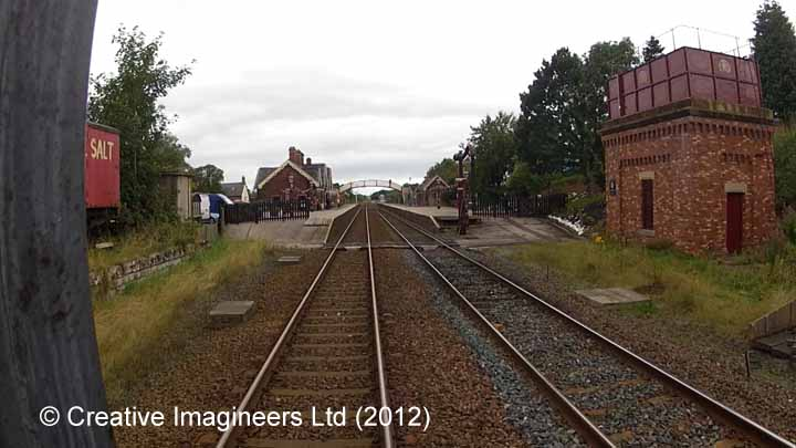 277210: Appleby Station - Tank House: Cab-view video still (northbound)
