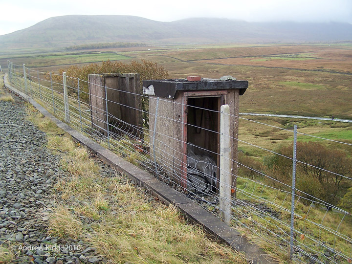 247910: Fog Hut NW of Ribblehead Viaduct (A):Elevation view from the north