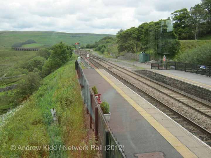Garsdale Signal Box: Context view to the north