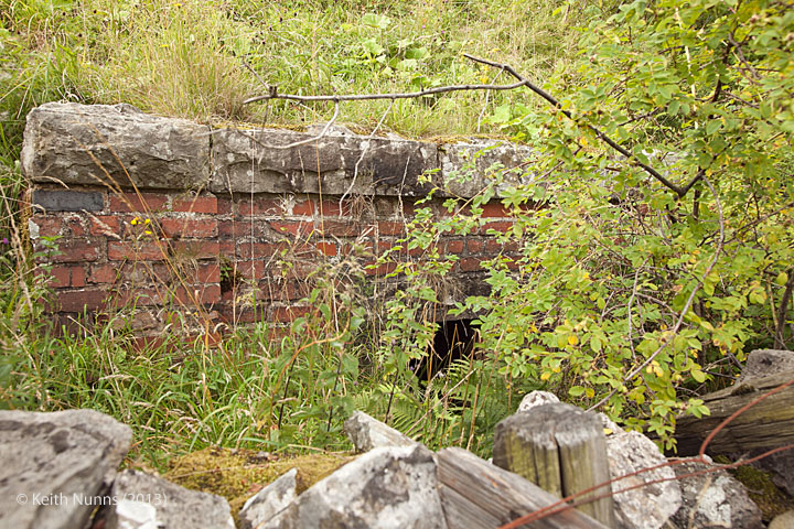 "261210 Culvert (1' 8"") Parry Gill: Detail view from the east"