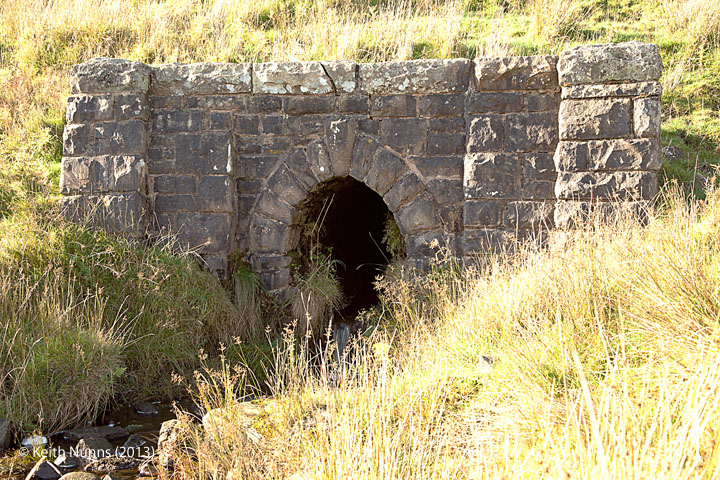 260370 Culvert 1ft 8in: Detail view from the east