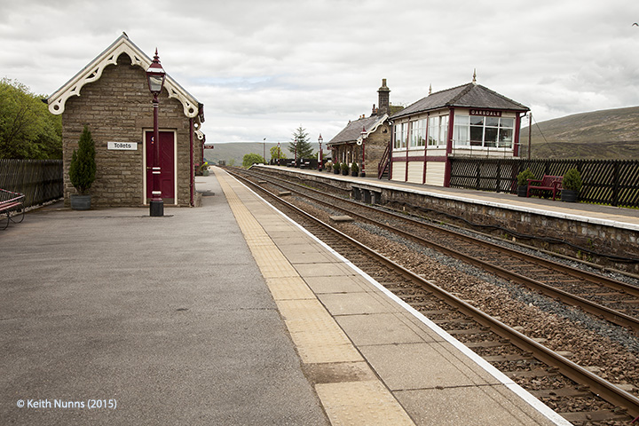 256680:Garsdale Station-North building (Up-Island):Context view from north east