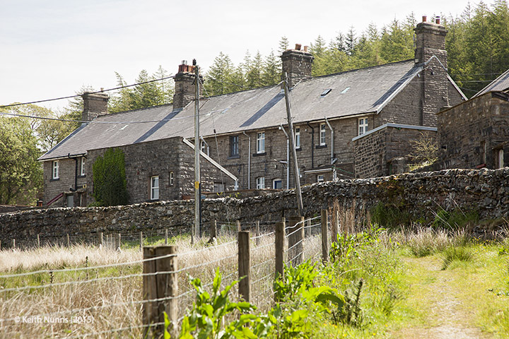 256620: Garsdale - Workers' Housing: Elevation view from the west