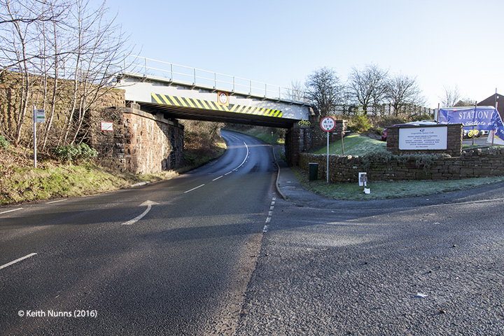 288330: Bridge SAC/288 - A686 Alston Road: Elevation view from the west