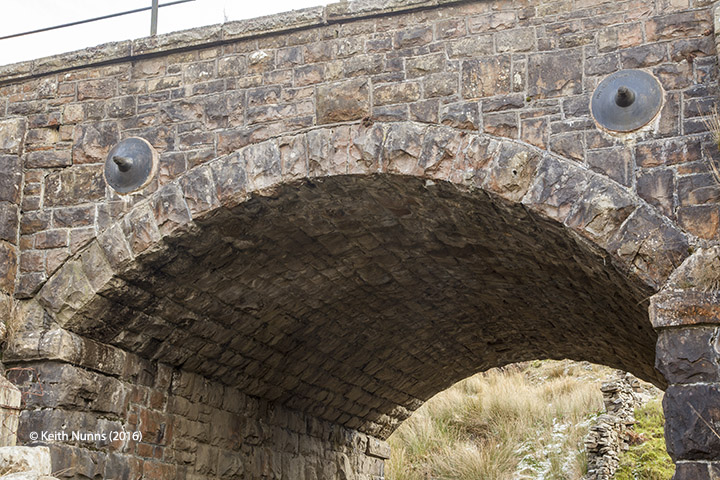 254950: Bridge SAC/102 - Handley's: Detail view from the west