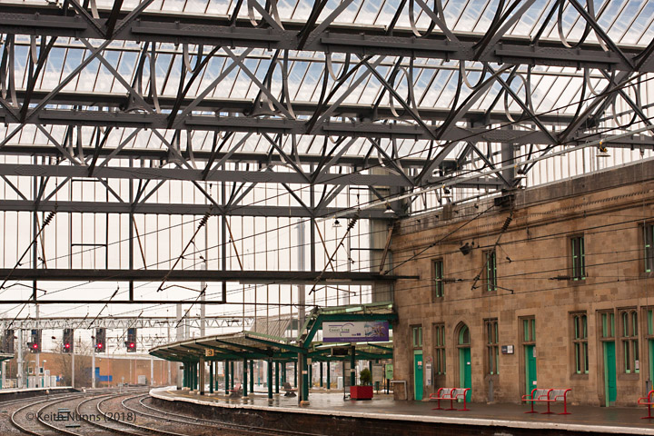 308100: Carlisle Citadel Station: Context view from the north east