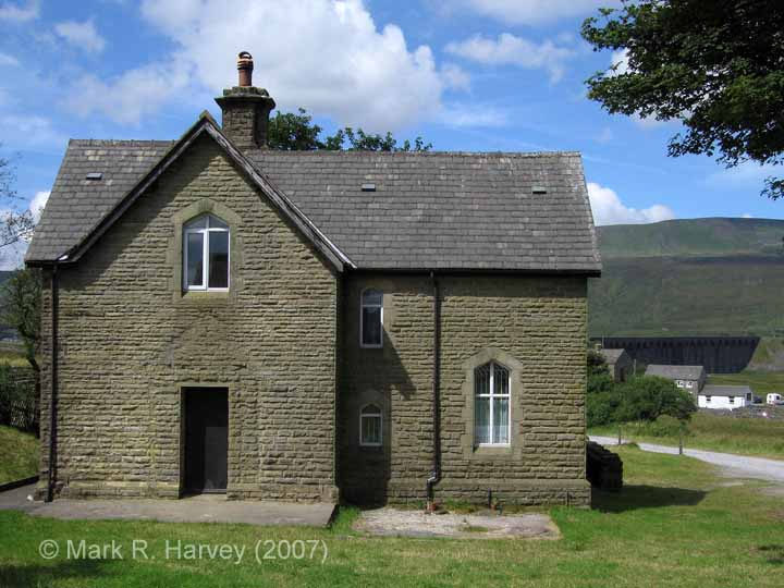 Ribblehead Station Master's House: Elevation view from the south-east