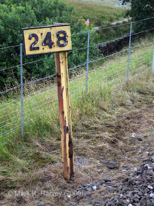 Milepost 248: Elevation view from the north