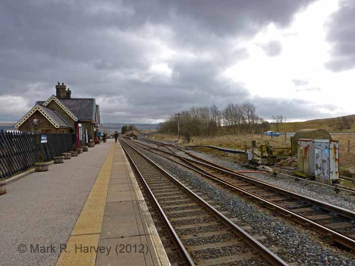 Ribblehead Station Booking Office: Context view from the North-West