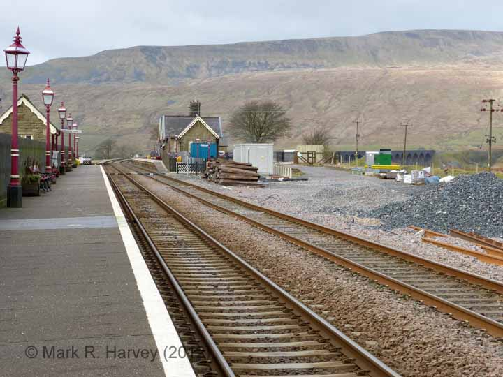 Ribblehead Station Booking Office: Context view from the south-east (v1)