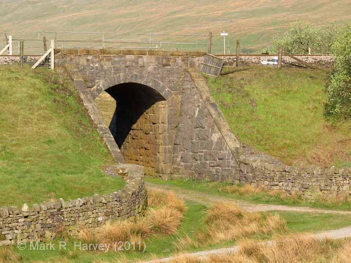 Bridge SAC/67 - Blea Moor No 1: Elevation view from the south-east