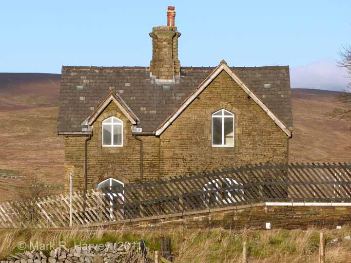 Ribblehead Station Master's House: Elevation view from the south-west