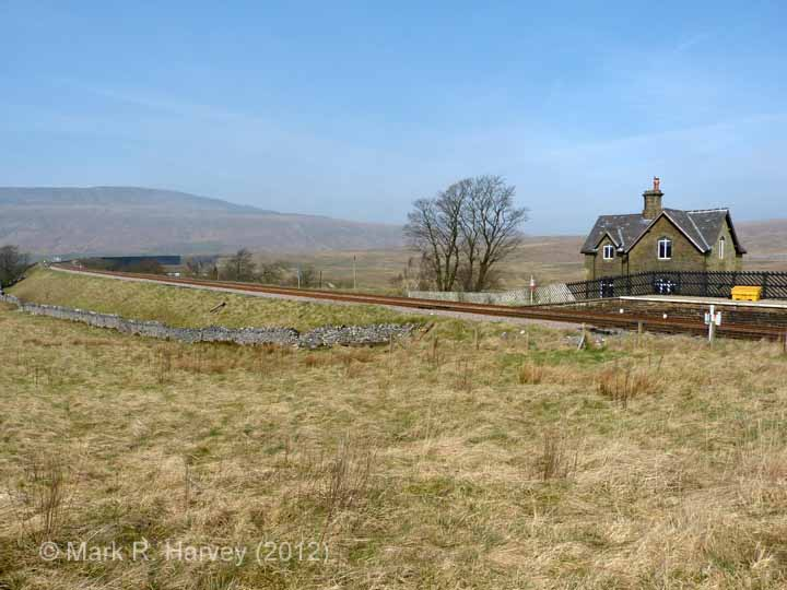 Ribblehead Station Master's House: Context view from the south
