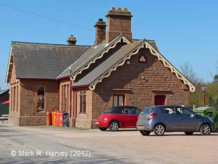 Langwathby Station Booking Office: South elevation view (1)