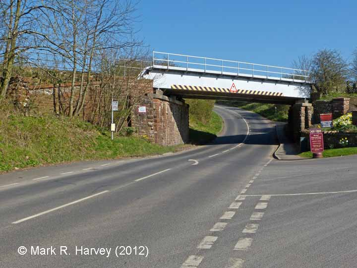 Bridge SAC/288 (A686, Alston Road): West elevation view