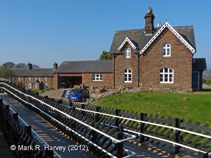 Lazonby & Kirkoswald Station Master's House: Context view from the south (1)