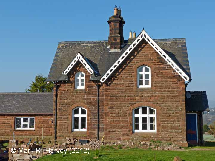 Lazonby & Kirkoswald Station Master's House: West elevation view