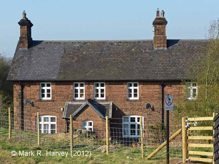 Lazonby & Kirkoswald Railway Cottages: South elevation view (2)