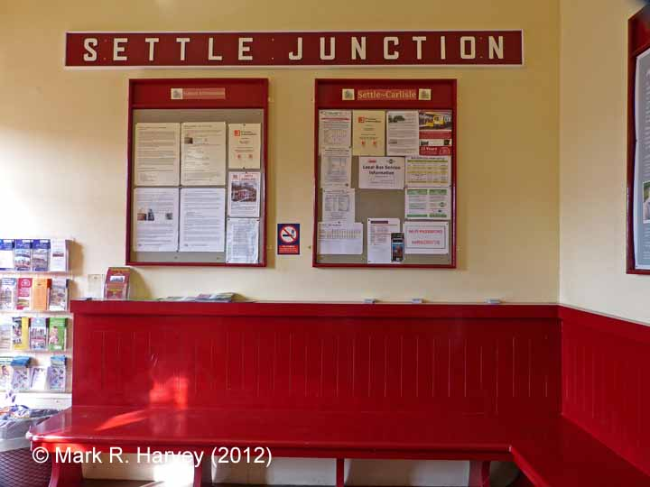 Settle Station Booking Office: Waiting room interior (former 'ladies room')
