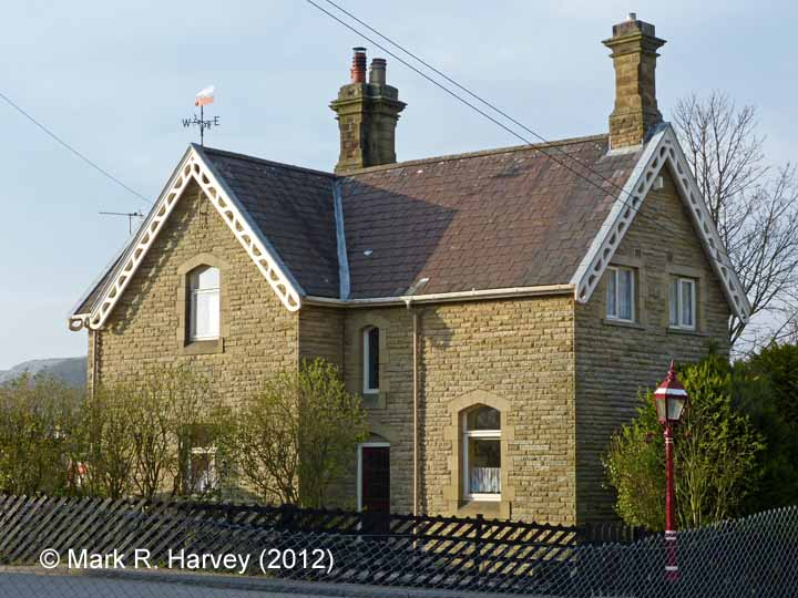 Settle - Station Master's House (detached): South-east elevation
