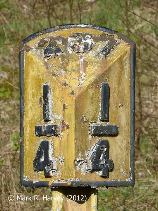 Milepost 231¼: Southwest elevation""