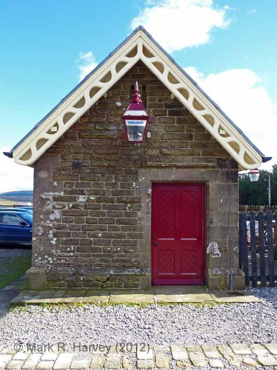 Ribblehead Station Booking Office: North-west elevation view