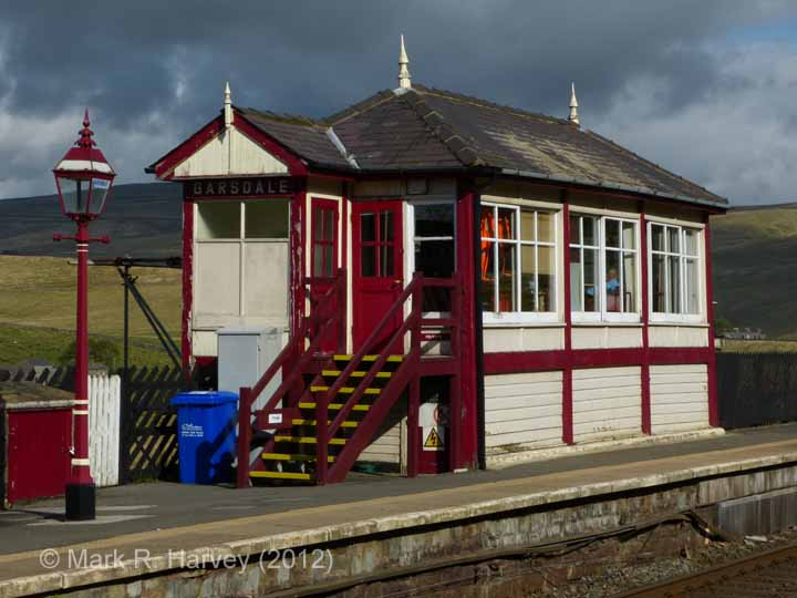 Garsdale Signal Box: South elevation view