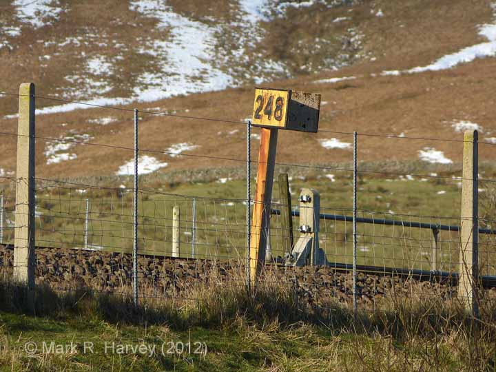 Milepost 248: Elevation view from the south-east