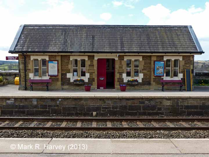 Settle Station - Waiting Room (Down): Eastern elevation view