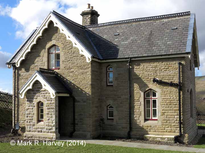 Ribblehead Station Master's House: Elevation view from the east