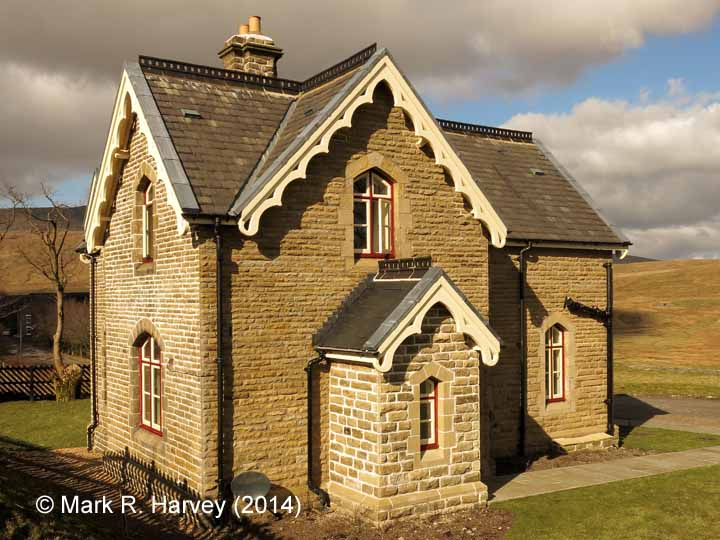 Ribblehead Station Master's House: Elevation view from the south