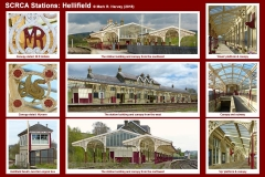 Photo-montage for Hellifield Station