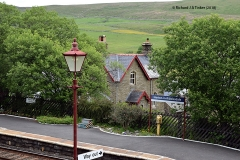 242540: Horton-in-Ribblesdale - Station Master's House (detached): Context view from the West