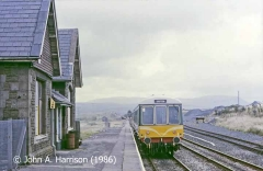 Ribblehead Station and Booking Office, context view from the west-northwest.