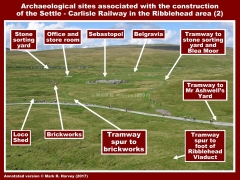 Archaeological sites in the Ribblehead area (SCR-2)