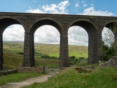 252150: Bridge SAC/84 - Artengill Viaduct (PROW - bridleway): Context view from the East