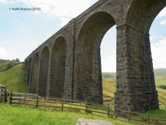 252150: Bridge SAC/84 - Artengill Viaduct (PROW - bridleway): Context view from the North