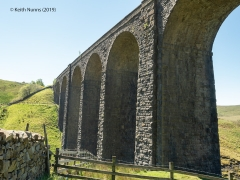 252150: Bridge SAC/84 - Artengill Viaduct (PROW - bridleway): Context view from the North West